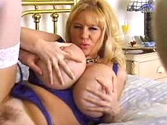 Sex adventure with hot mom with just enormous tits