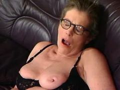 Granny satisfied by mature playmate