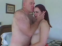 Sensual Chubby lady fucks with dude