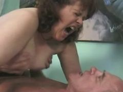 Old man fucks granny with big tits
